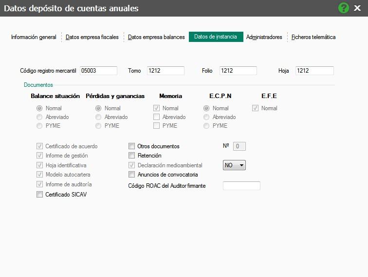 Cuentas Anuales con ContaPlus Flex - AlcaTic