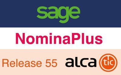Sage NominaPlus Release 55