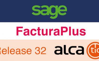 Sage FacturaPlus Release 32