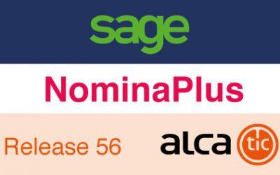 Sage NominaPlus Release 56