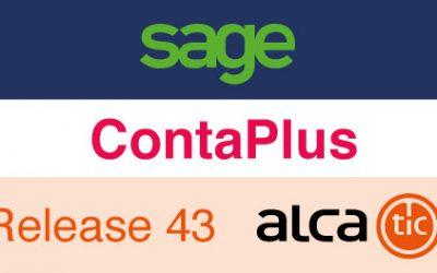 Sage ContaPlus Release 43