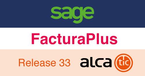 Sage FacturaPlus Release 33