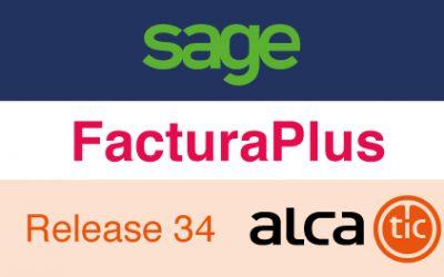 Sage FacturaPlus Release 34