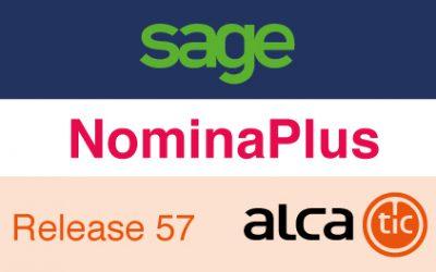 Sage NominaPlus Release 57