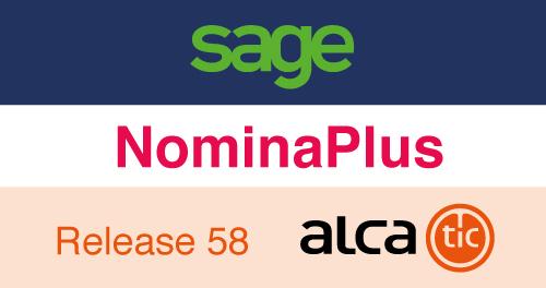 Sage NominaPlus Release 58