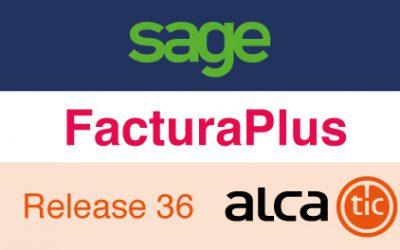 Sage FacturaPlus Release 36