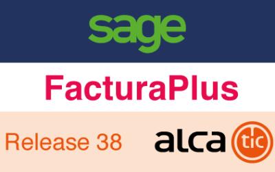 Sage FacturaPlus Release 38