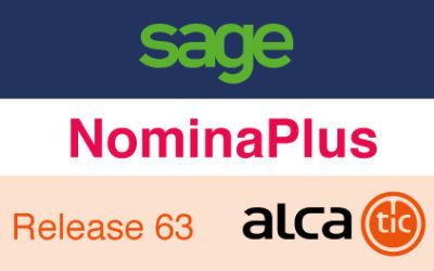 Sage NominaPlus Release 63
