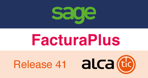 Sage FacturaPlus Release 41