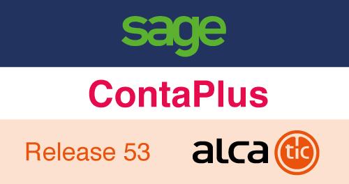 Sage ContaPlus Release 53