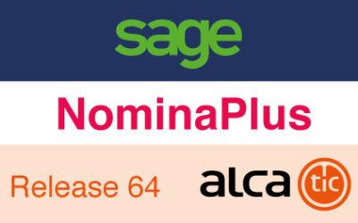 Sage NominaPlus Release 64