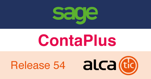 Sage ContaPlus Release 54
