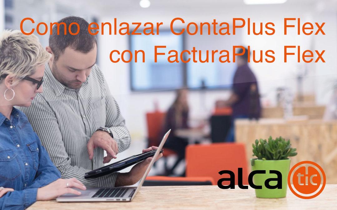 Como enlazar FacturaPlus Flex con ContaPlus Flex