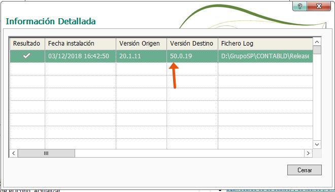 Como comprobar la Release que tengo instalada en Sage ContaPlus FacturaPlus TPVPlus NominaPlus 1