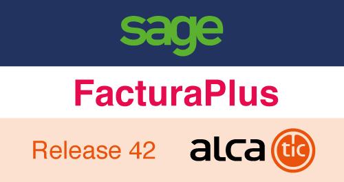 Sage FacturaPlus Release 42