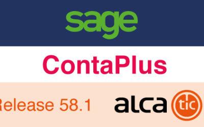 Sage ContaPlus Release 58.1