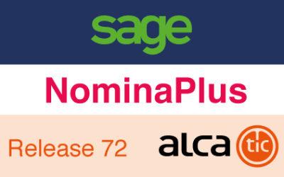 Sage NominaPlus Release 72