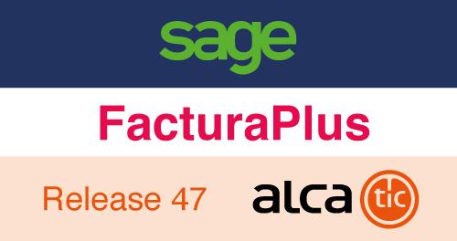 Sage FacturaPlus Release 47