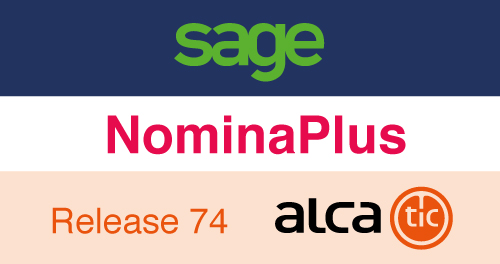 Sage NominaPlus Release 74