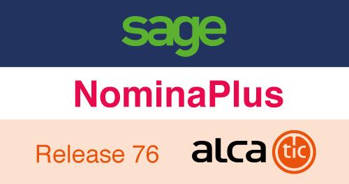 Sage NominaPlus Release 76
