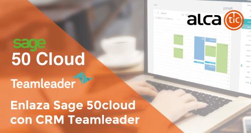 Enlaza tu Sage 50cloud con CRM Teamleader