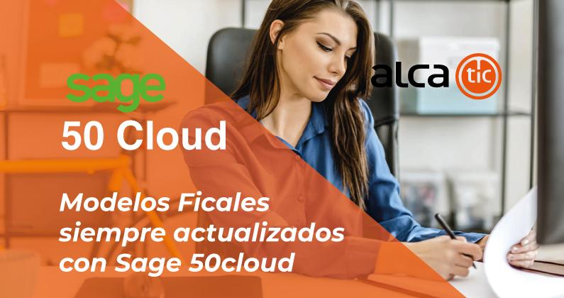 Sage 50cloud Modelos Fiscales siempre actualizados