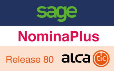Sage NominaPlus Release 80