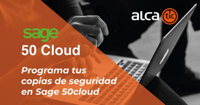 Programa copias de seguridad en Sage 50cloud
