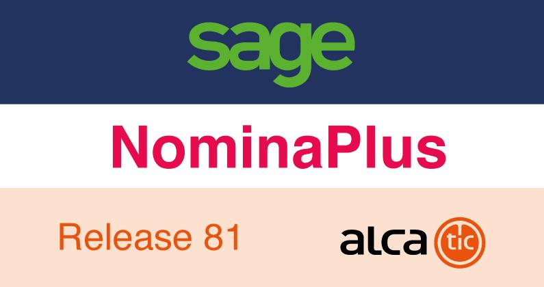 Sage NominaPlus Release 81
