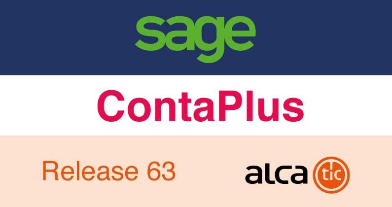 Sage ContaPlus Release 63