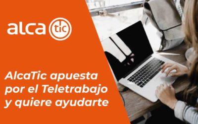 AlcaTic sigue trabajando desde casa