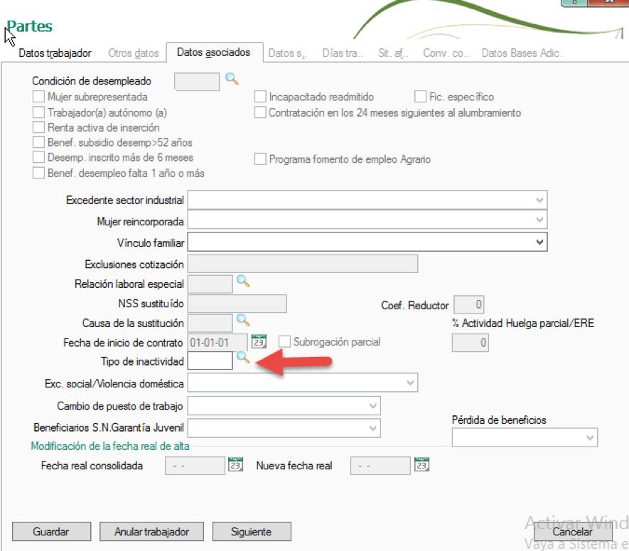Cómo informar de un ERTE con NominaPlus