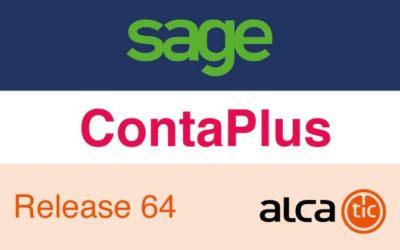 Sage ContaPlus Release 64