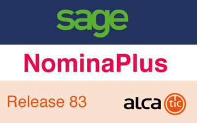 Sage NominaPlus Release 83
