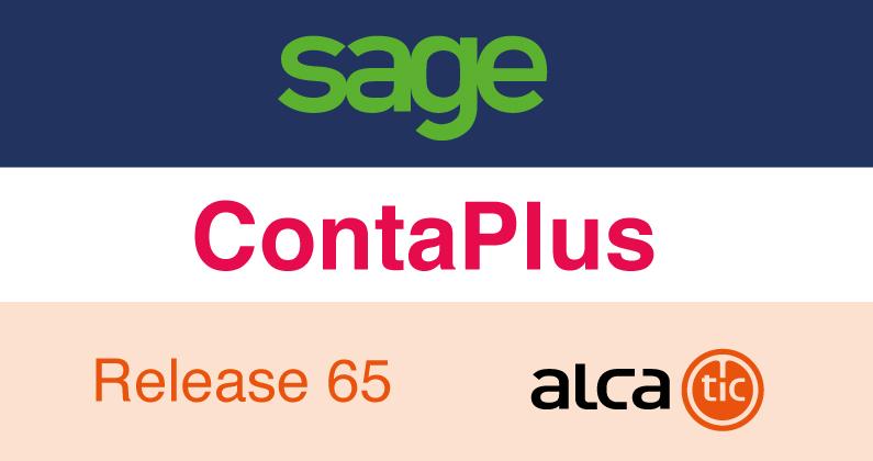 Sage ContaPlus Release 65