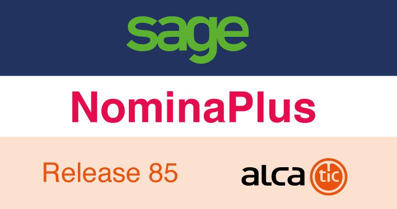 Sage NominaPlus Release 85