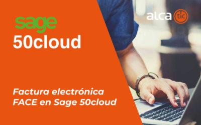 Factura electrónica FACE en Sage 50cloud