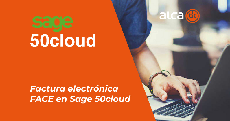 Factura electrónica FACE en Sage 50cloud
