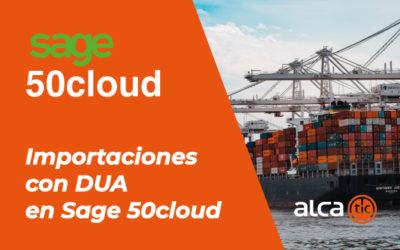 Importaciones con DUA en Sage 50cloud