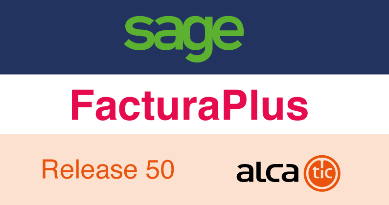 Sage FacturaPlus Release 50