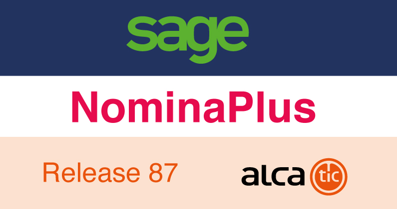 Sage NominaPlus Release 87