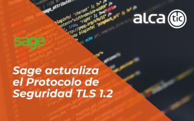 Sage actualiza el Protocolo de Seguridad TLS 1.2