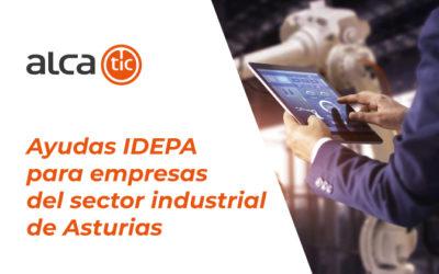Ayudas IDEPA para empresas del sector industrial de Asturias