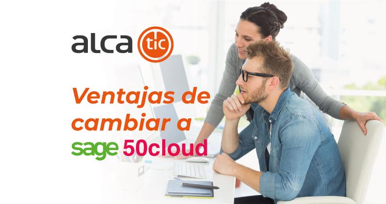 Ventajas de cambiar a Sage 50cloud – Entorno General
