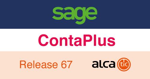 Sage ContaPlus Release 67