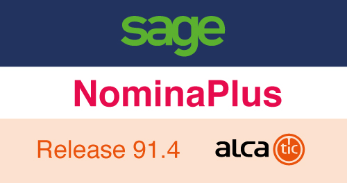 Sage NominaPlus Release 91.4