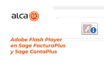 Adobe Flash Player en Sage FacturaPlus y ContaPlus
