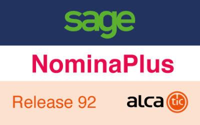 Sage NominaPlus Release 92