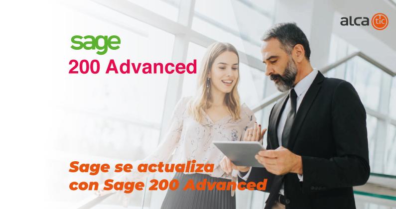 Sage actualiza Sage 200 con Sage 200 Advanced